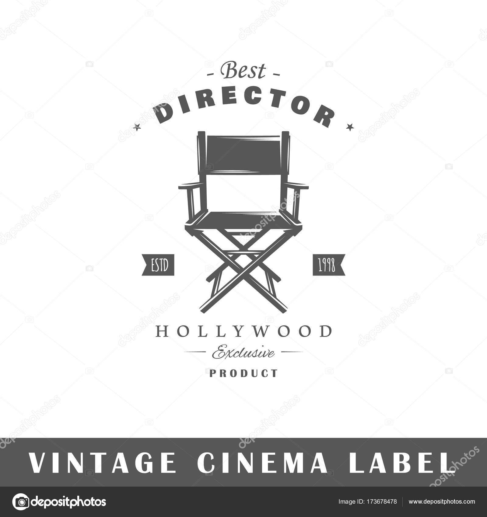 Plantilla de etiqueta de cine — Vector de stock © Shabanov_Sergey ...