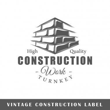 Construction label template