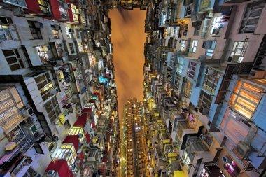 Quarry Bay high rise housing in Hong Kong China