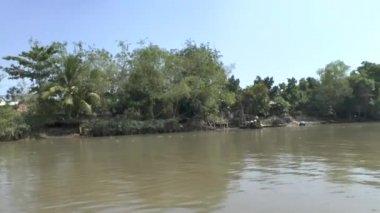 Boat trip on the Mekong in Vietnam