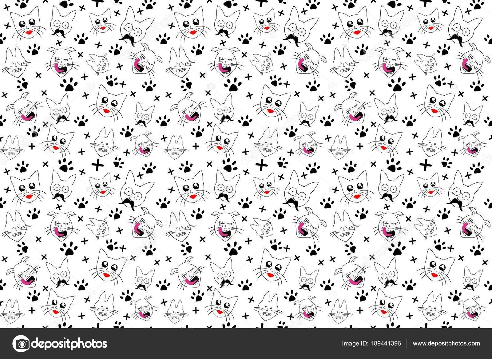 Imagen De Dibujo 3d De Gato Para Fondo De Pantalla