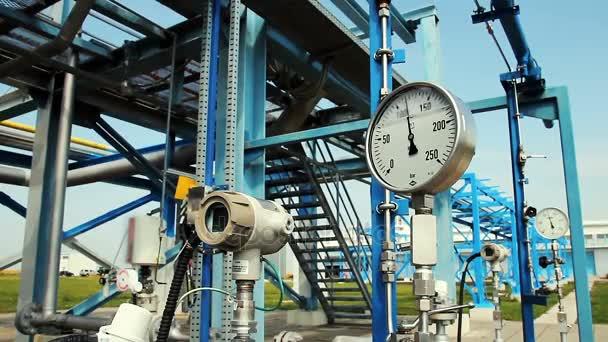 Podzemní zásobník zemního plynu skladovacího zařízení