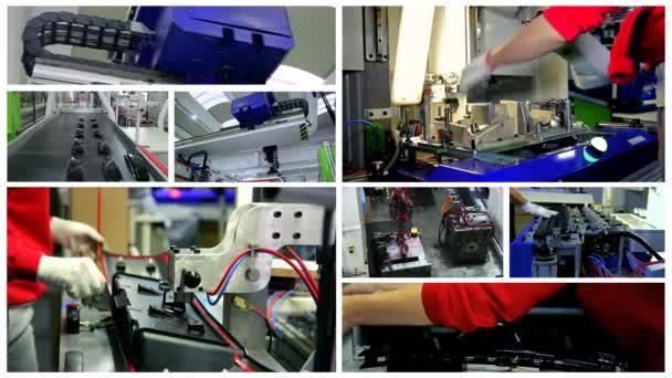 Auto Industrie Interieur Voertuigonderdelen Productie Auto Fabriek ...