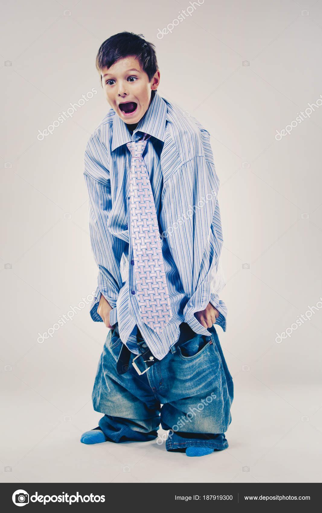 Cảm Cười...chơi - Page 40 Depositphotos_187919300-stock-photo-funny-boy-wearing-dads-clothes