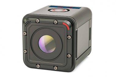 Modern dashcam DVR, 3D rendering