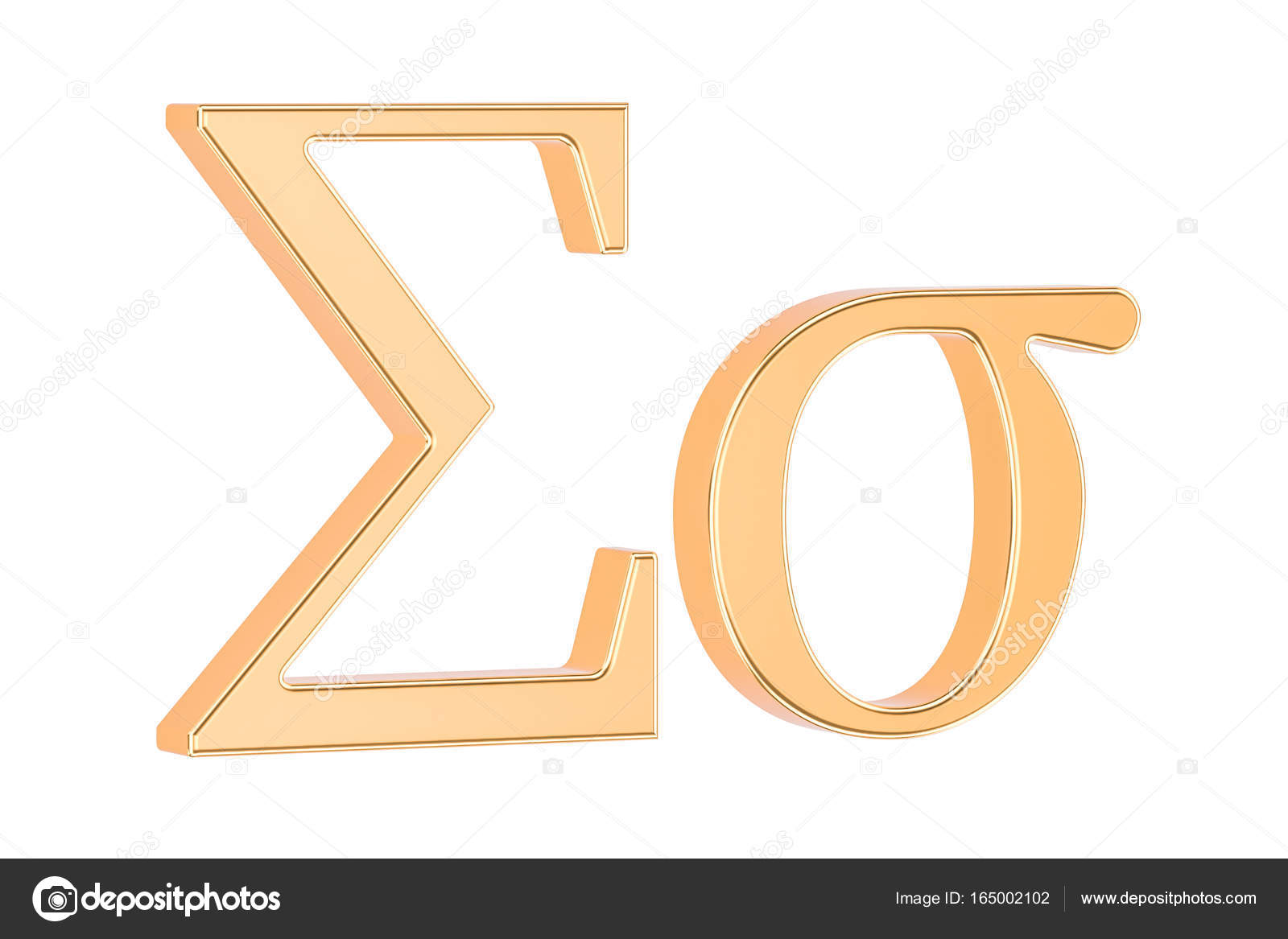 Golden greek letter sigma 3d rendering stock photo alexlmx golden greek letter sigma 3d rendering stock photo biocorpaavc Choice Image