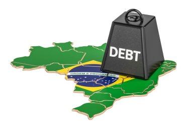 Brazilian national debt or budget deficit, financial crisis conc