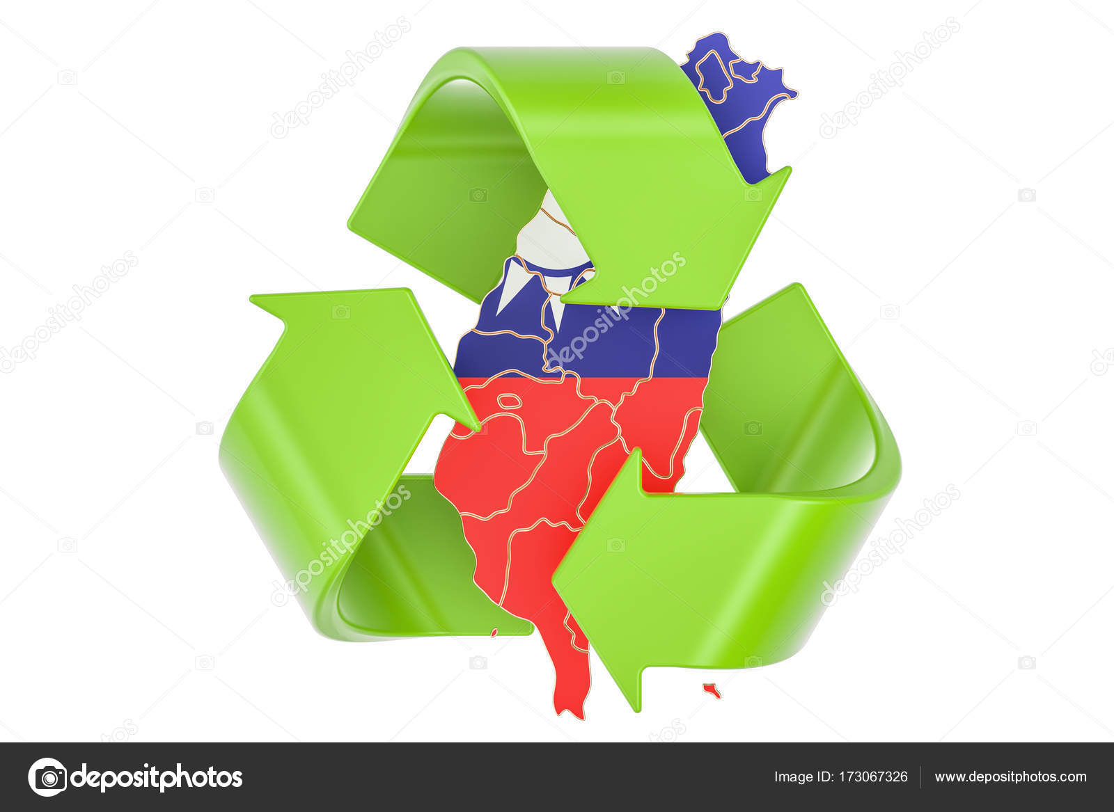 Recycling in taiwan concept 3d rendering stock photo alexlmx recycling in taiwan concept 3d rendering stock photo buycottarizona Choice Image