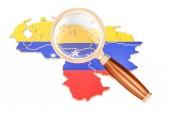Venezuelská pod lupou, analýza konceptu, 3d renderin