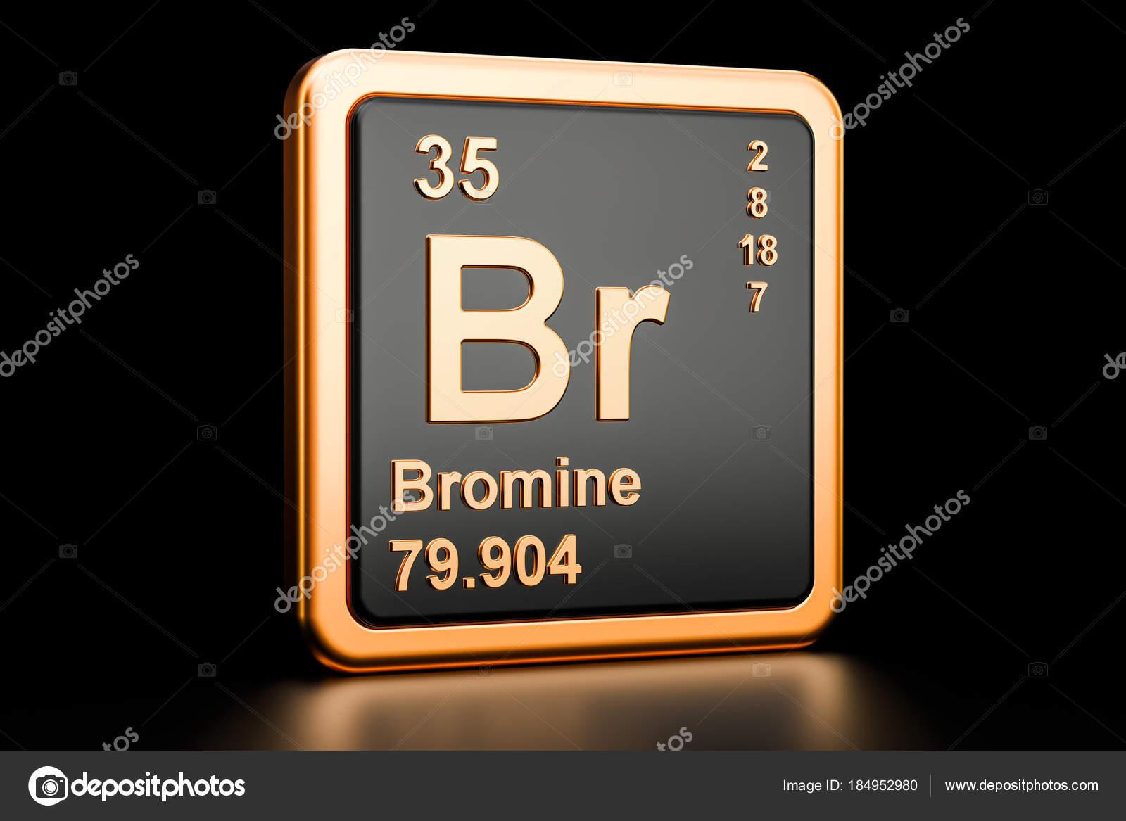 Elemento qumico de bromo br render 3d foto de stock alexlmx bromo br elemento qumico render 3d aislado sobre fondo negro foto de alexlmx urtaz Images