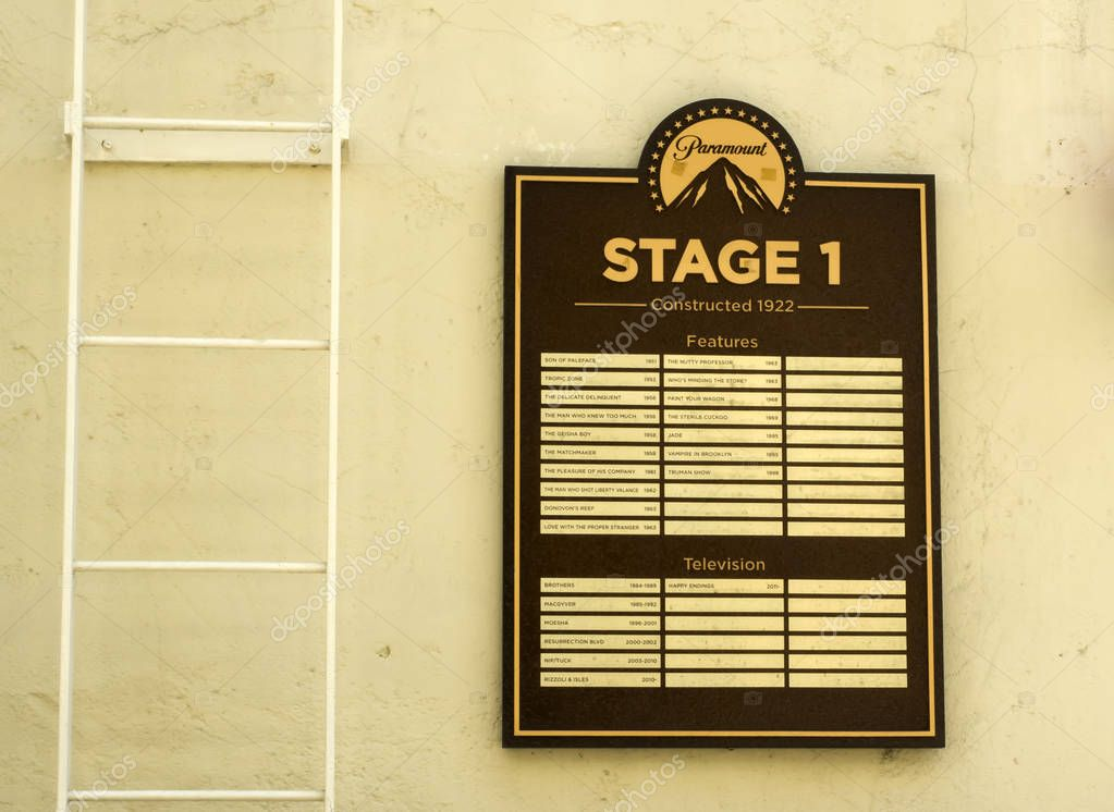 Paramount Studios Pictures, Stage 1 Features, Hollywood Tour on the 14th August, 2017 - Los Angeles, LA, California, CA, USA