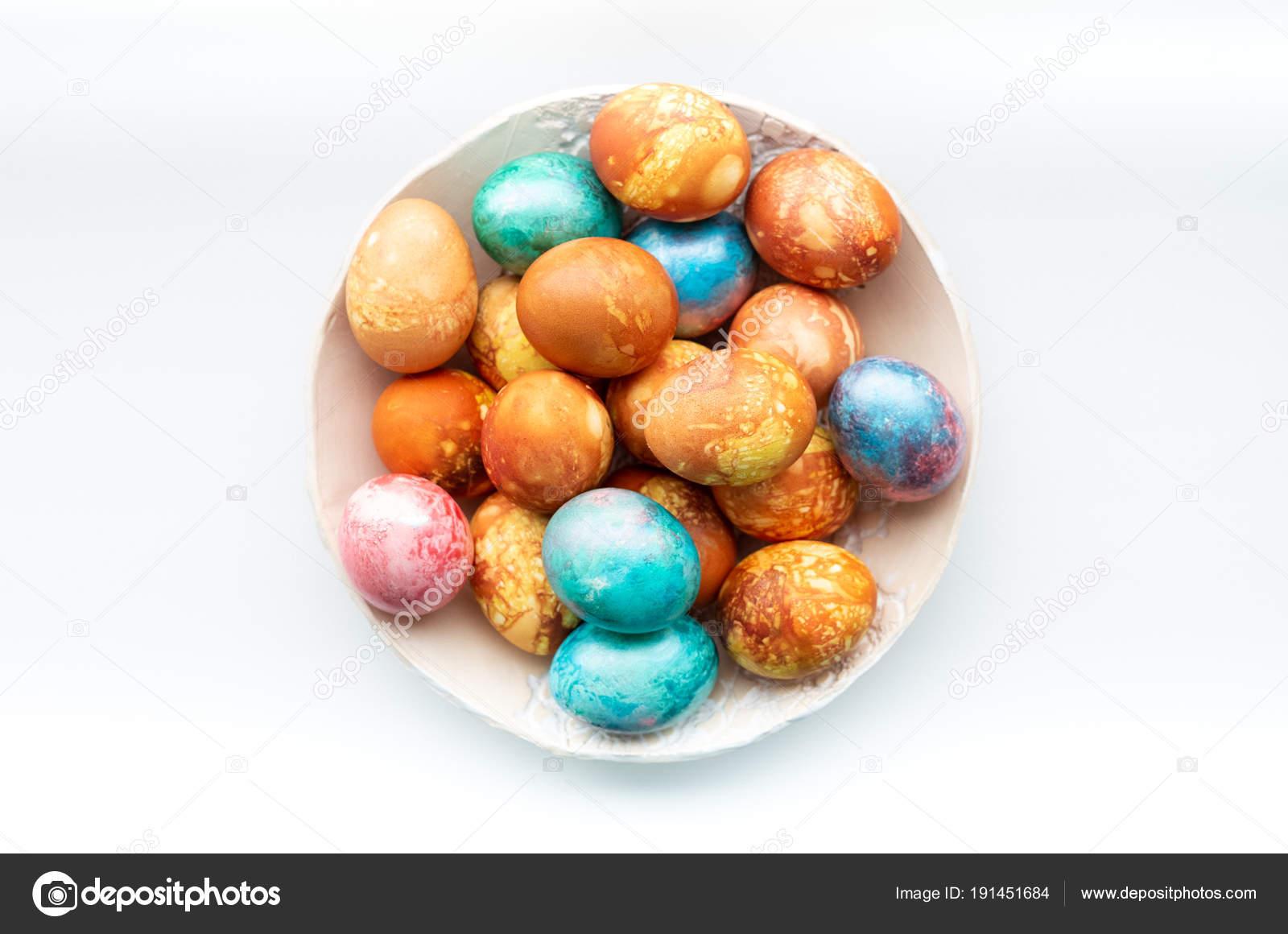 Großartig Gefärbte Ostereier Lebensmittelfarbe Bilder - Druckbare ...