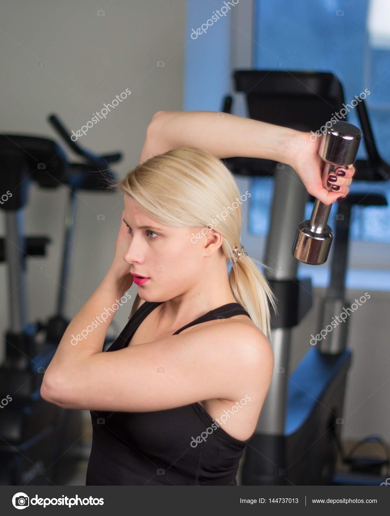 Женский спортзал сексуальные девушки