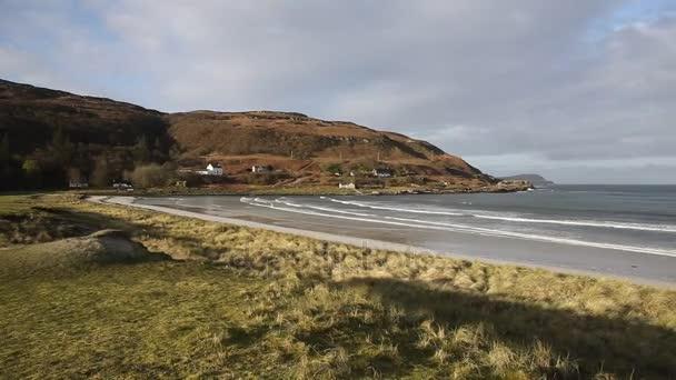 Calgary Bay Isle of Mull Argyll a Bute Skotska království skotské Vnitřní Hebridy na krásný jarní den