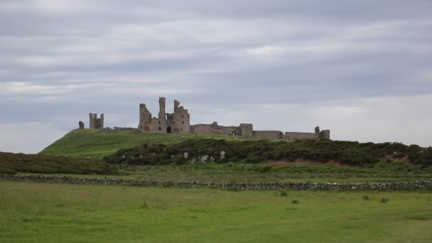 Dunstanburgh castle Northumberland Anglia Egyesült Királyság