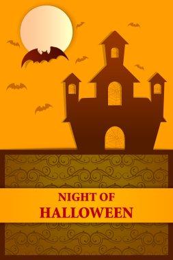 Happy Halloween holiday background