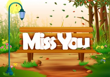 Miss You wallpaper background