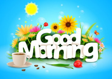 Good Morning wallpaper background