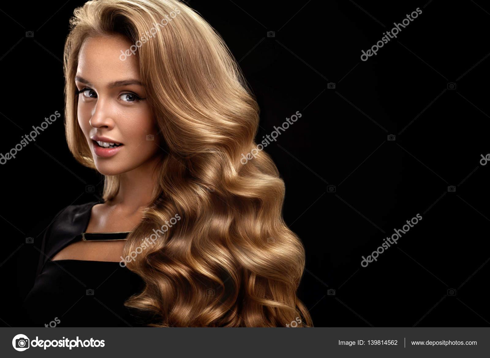 Haare locken volumen