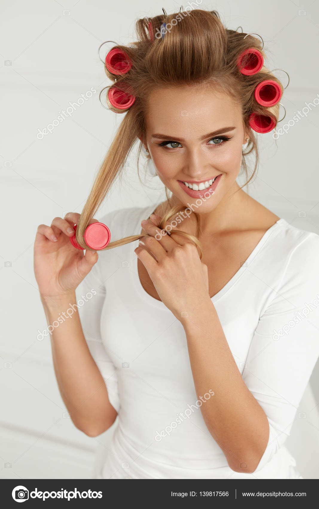 Setting Hair With Rollers Heather Vintage Hair Howtos