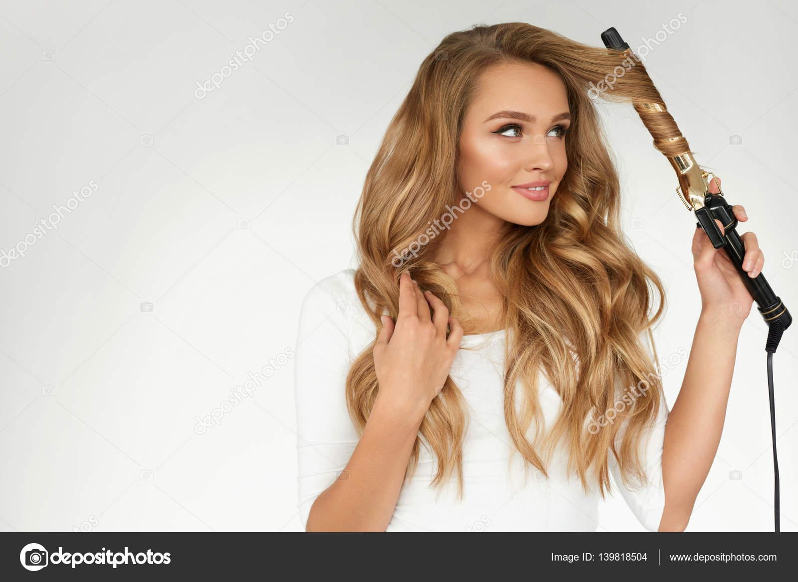 Peinados pelo rizado y liso