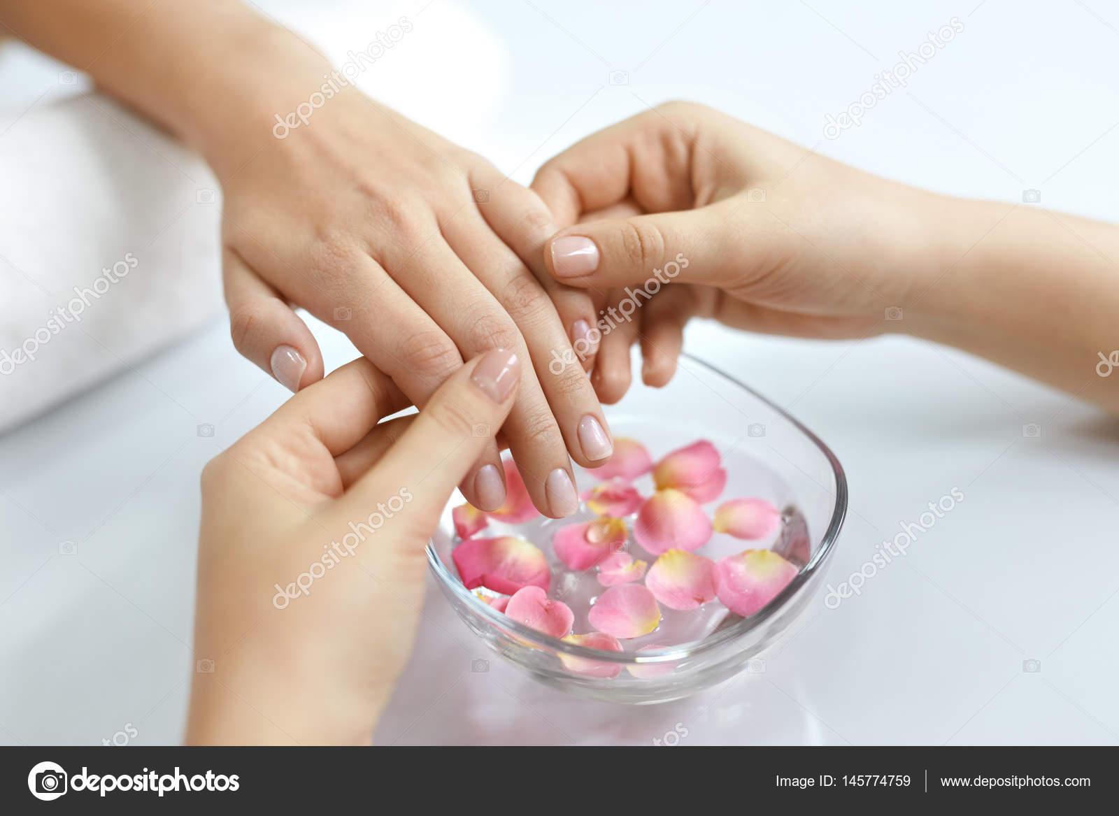 Спа массаж рук