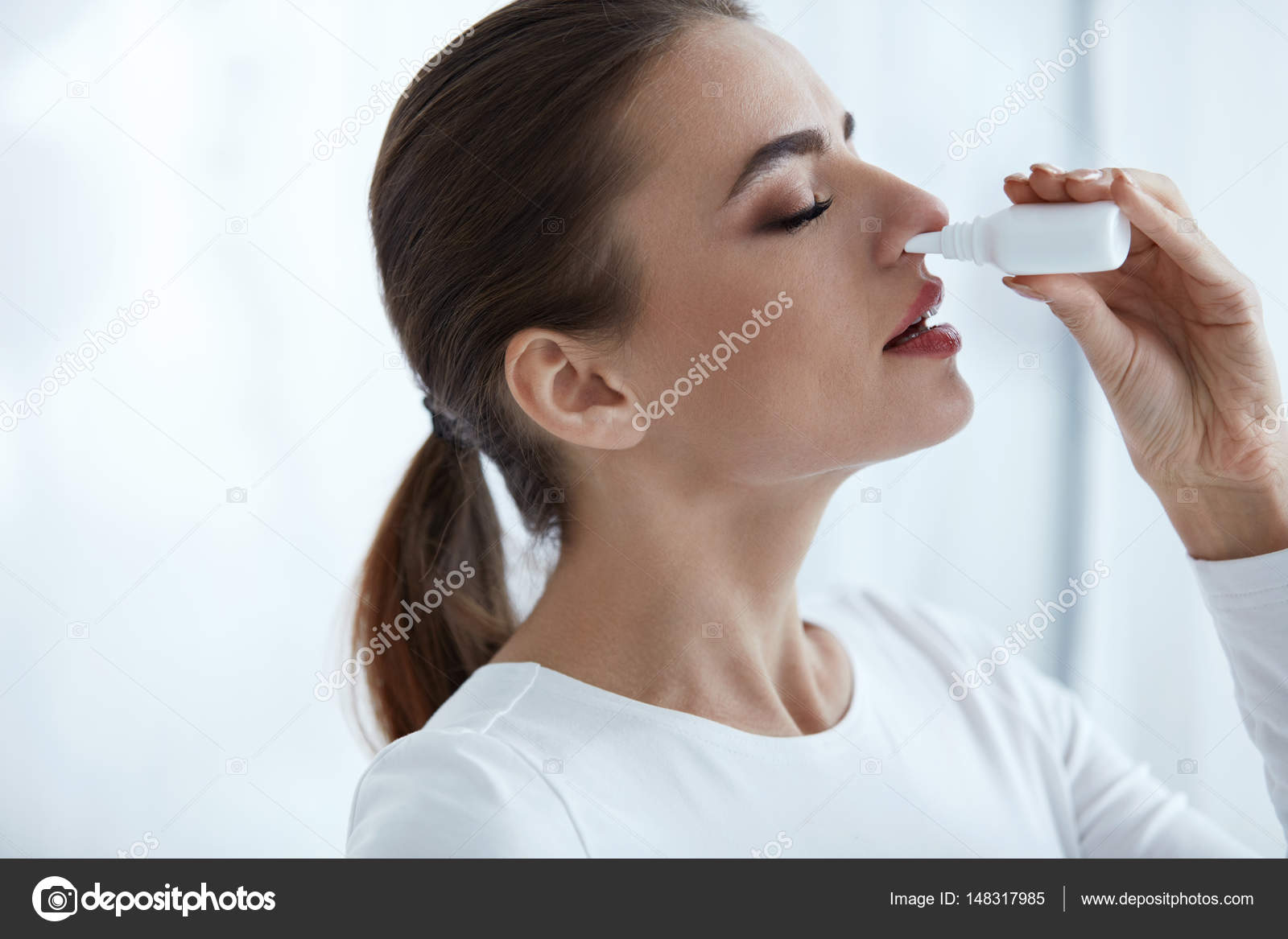 What are needed drops in the nose with an antibiotic for sinus 7