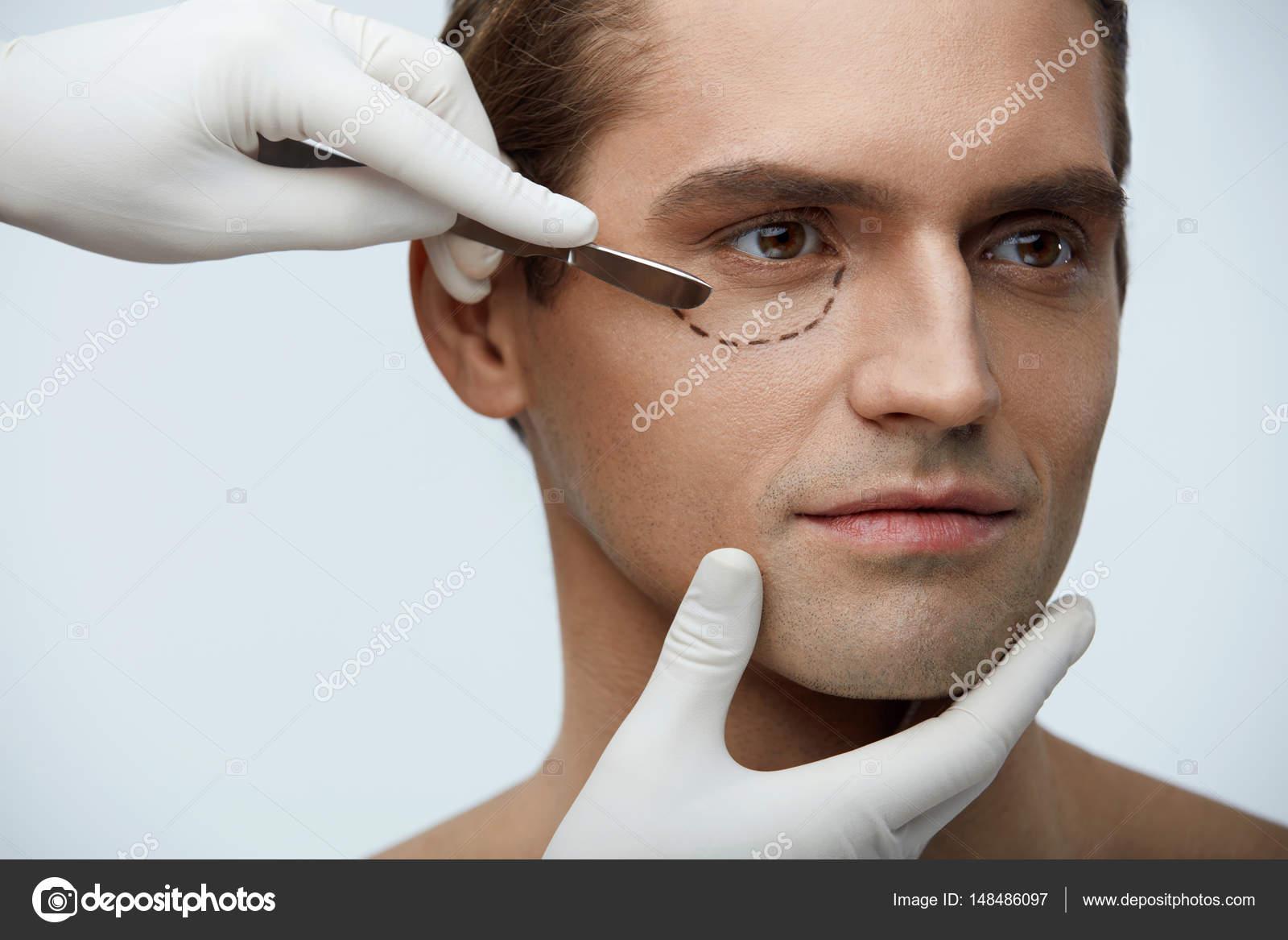 Fotos Ojos Bonitos Hombres Cirugía Plástica Retrato De Hombre