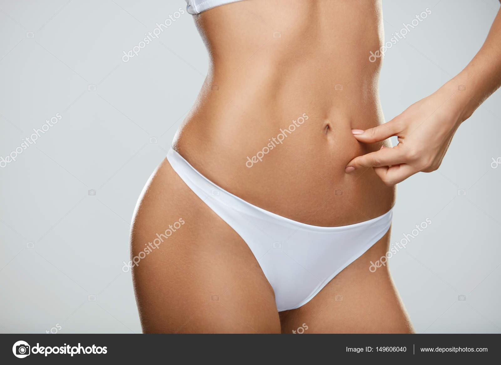 Hot girl hand in panties can not