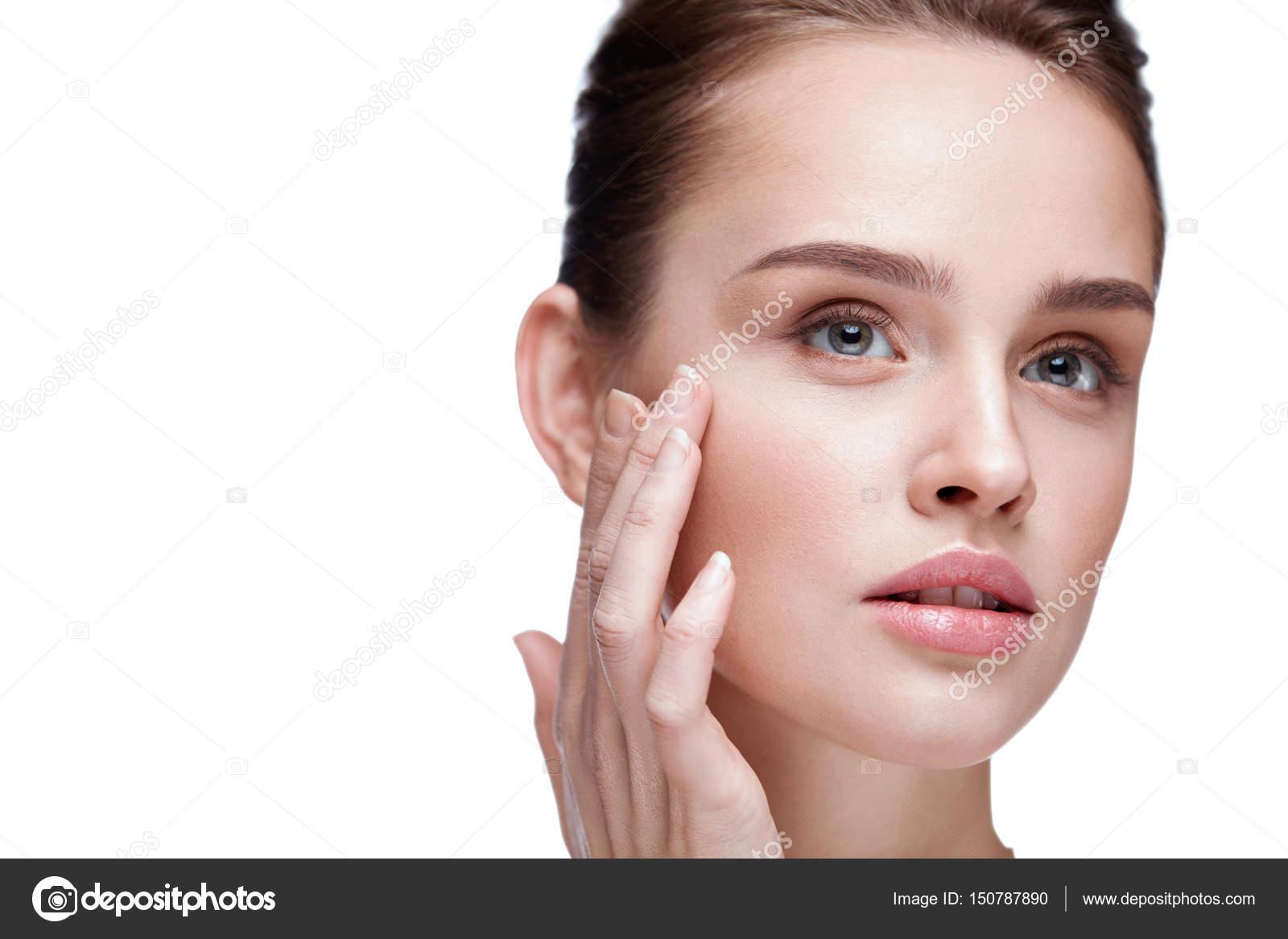 gladde huid gezicht