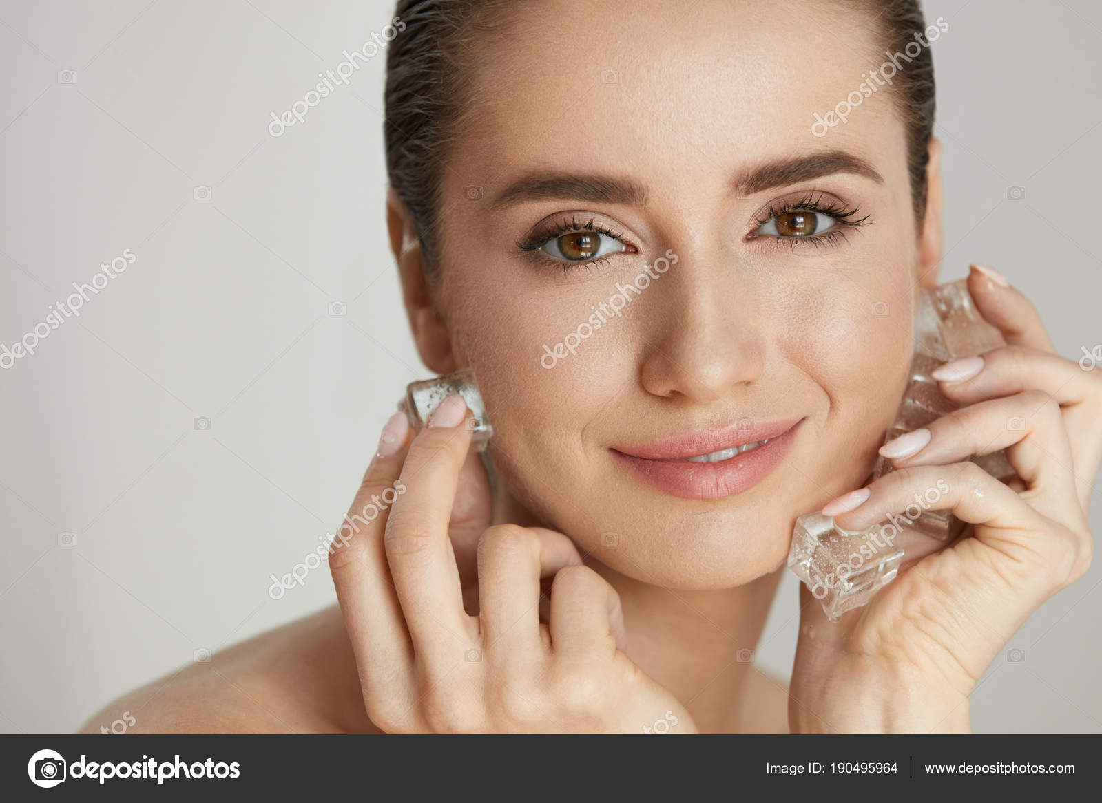 Have facial hand spa treatment congratulate