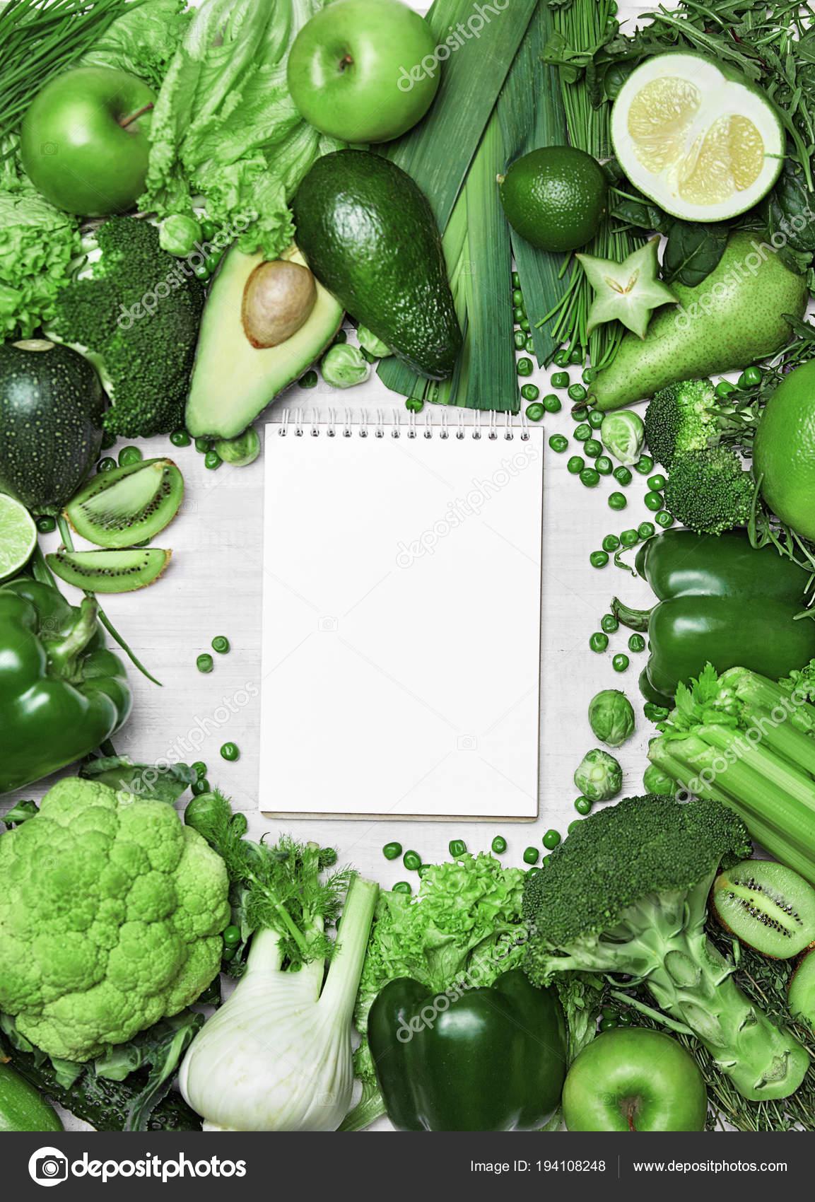 dieta de vegetales verdes