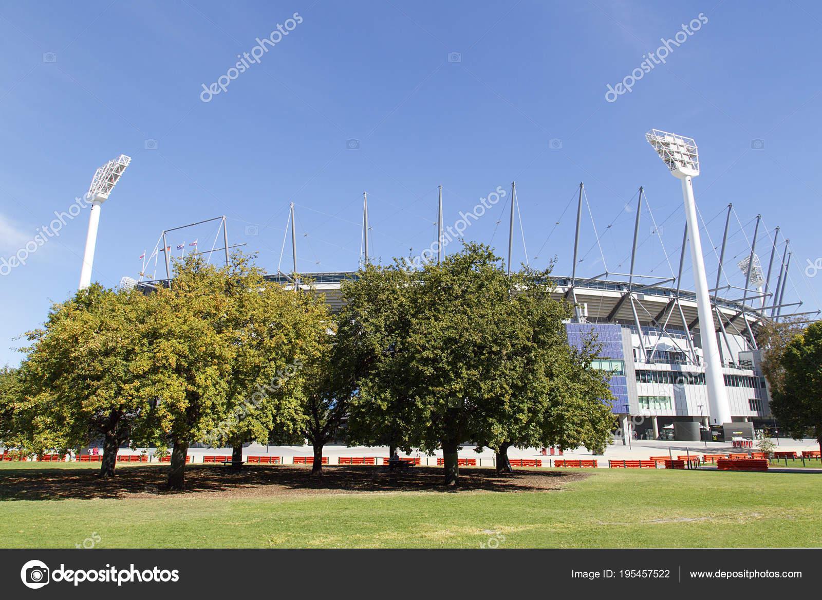 Melbourne Australia April 2018 Melbourne Cricket Ground