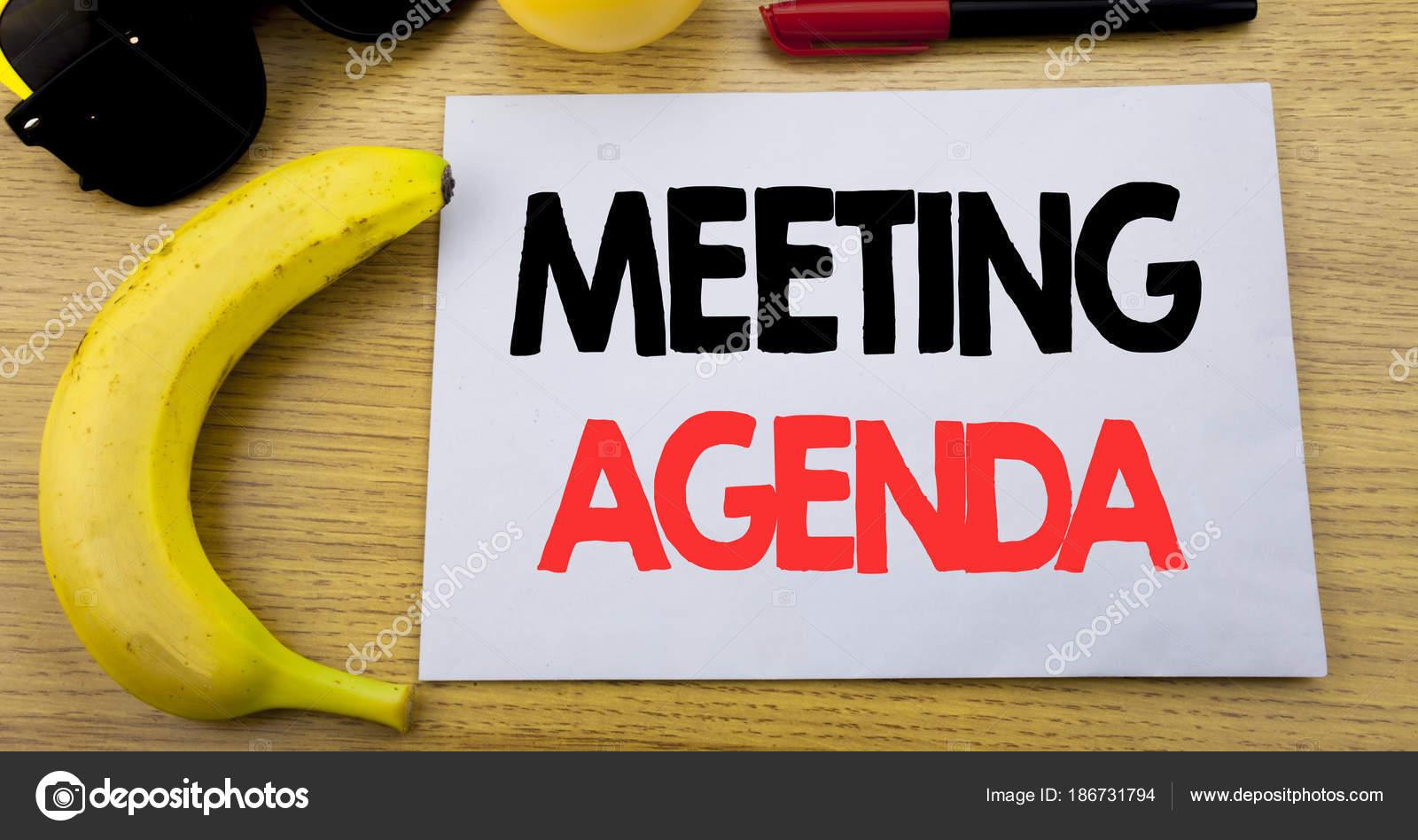 Agenda de la reunión. Concepto de negocio para el programa de Plan ...