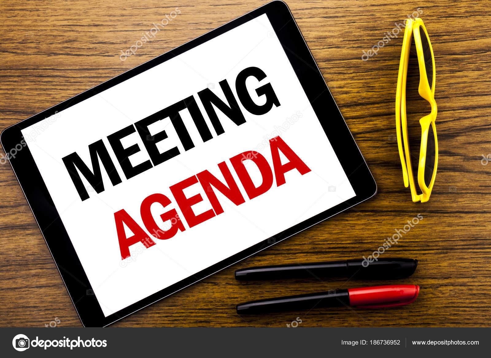 Großartig Schreiben Einer Agenda Für Einen Meeting Ideen - Bilder ...