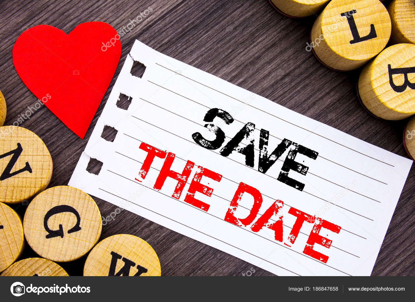 Handwriting text showing Save The Date. Conceptual photo Wedding ...