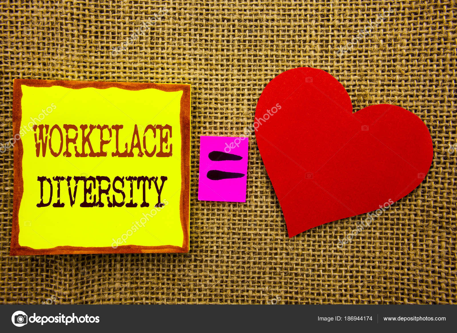 Diversity Meaning Workplace >> Handwriting Text Showing Workplace Diversity Business