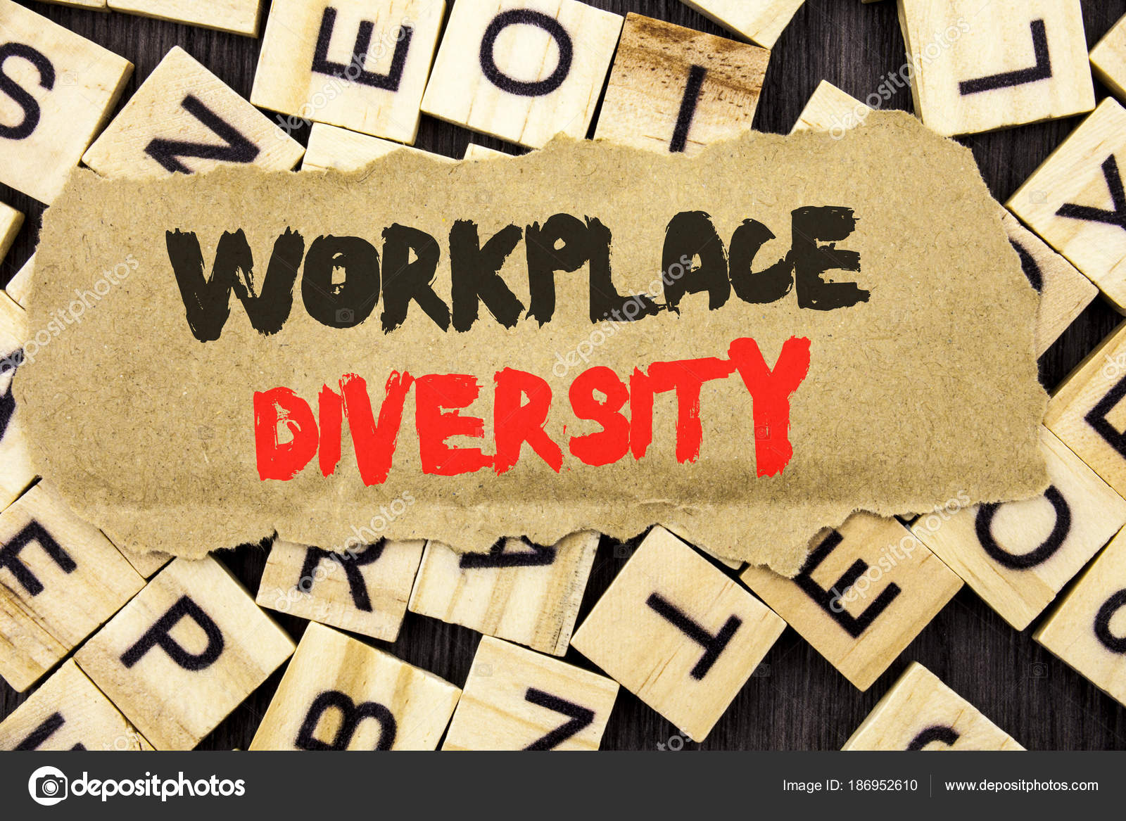 Diversity Meaning Workplace >> Handwriting Announcement Text Showing Workplace Diversity