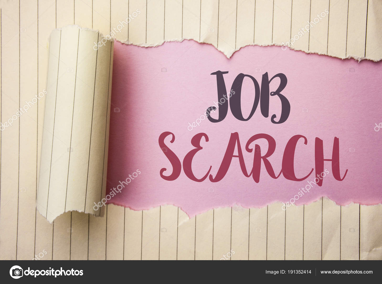 Writing Note Showing Job Search Business Photo Showcasing Find Career Vacancy Opportunity Employment Recruitment Recruit