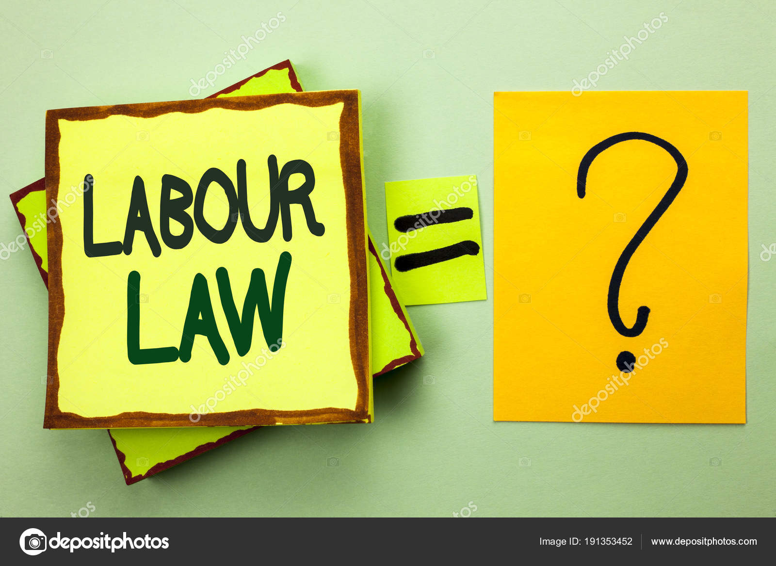 Handschrift Text Schreiben Arbeitsrecht Was Bedeutet Beschäftigung