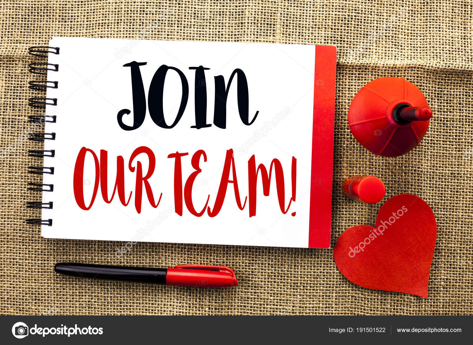 Handwriting text writing join our team motivational call concept handwriting text writing join our team motivational call concept meaning invitation to work together job stopboris Choice Image