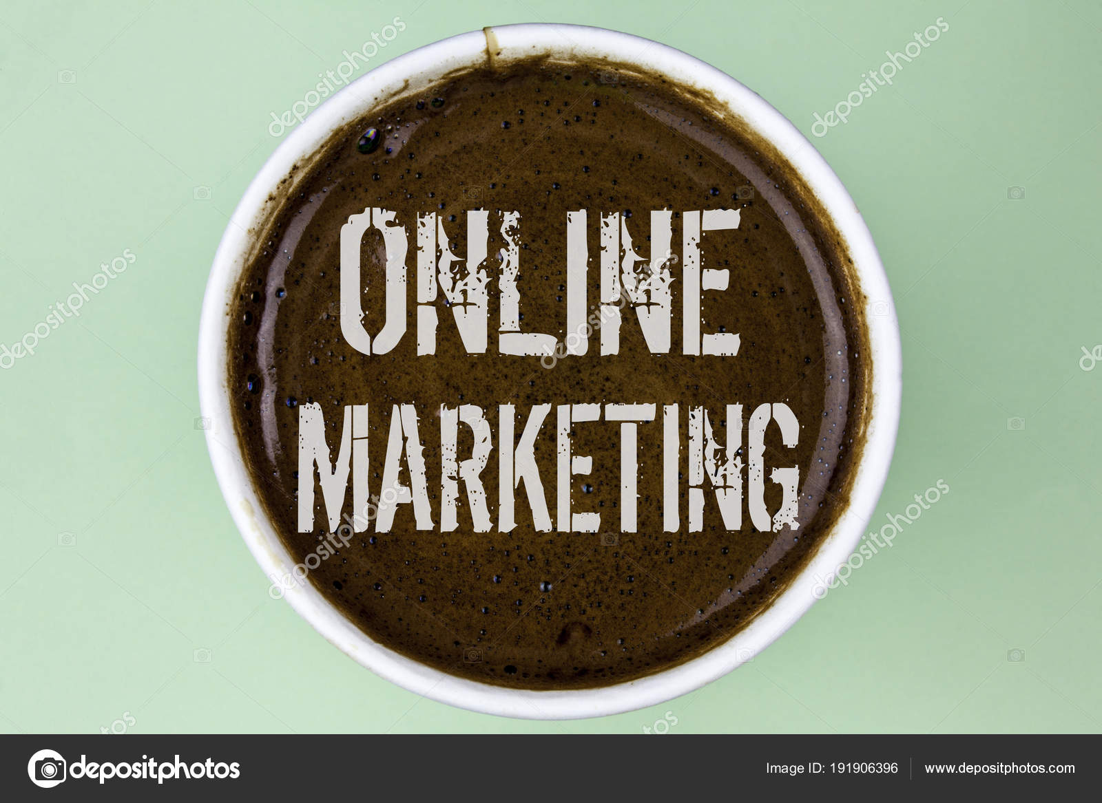 Word writing text Online Marketing  Business concept for