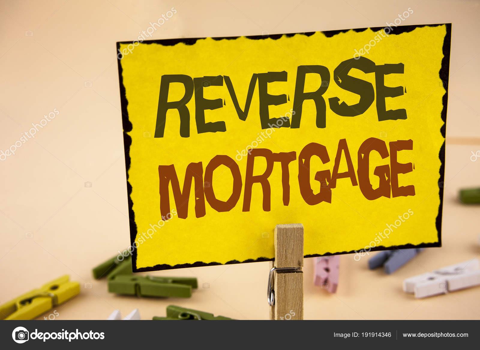 Texto De Letra Escrita Hipoteca Reversa Significado Do