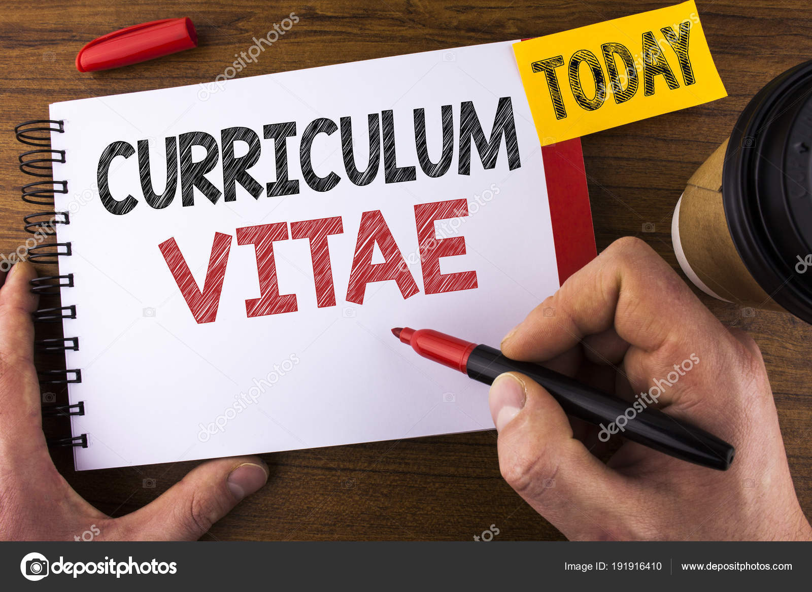 Parte conceptual escrito mostrando Curriculum Vitae. Texto de la ...