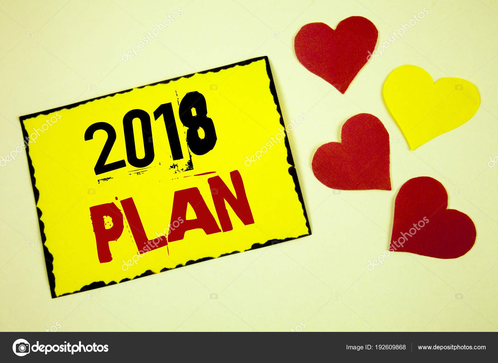 Nota de redacción mostrando Plan 2018. Foto de negocios mostrando