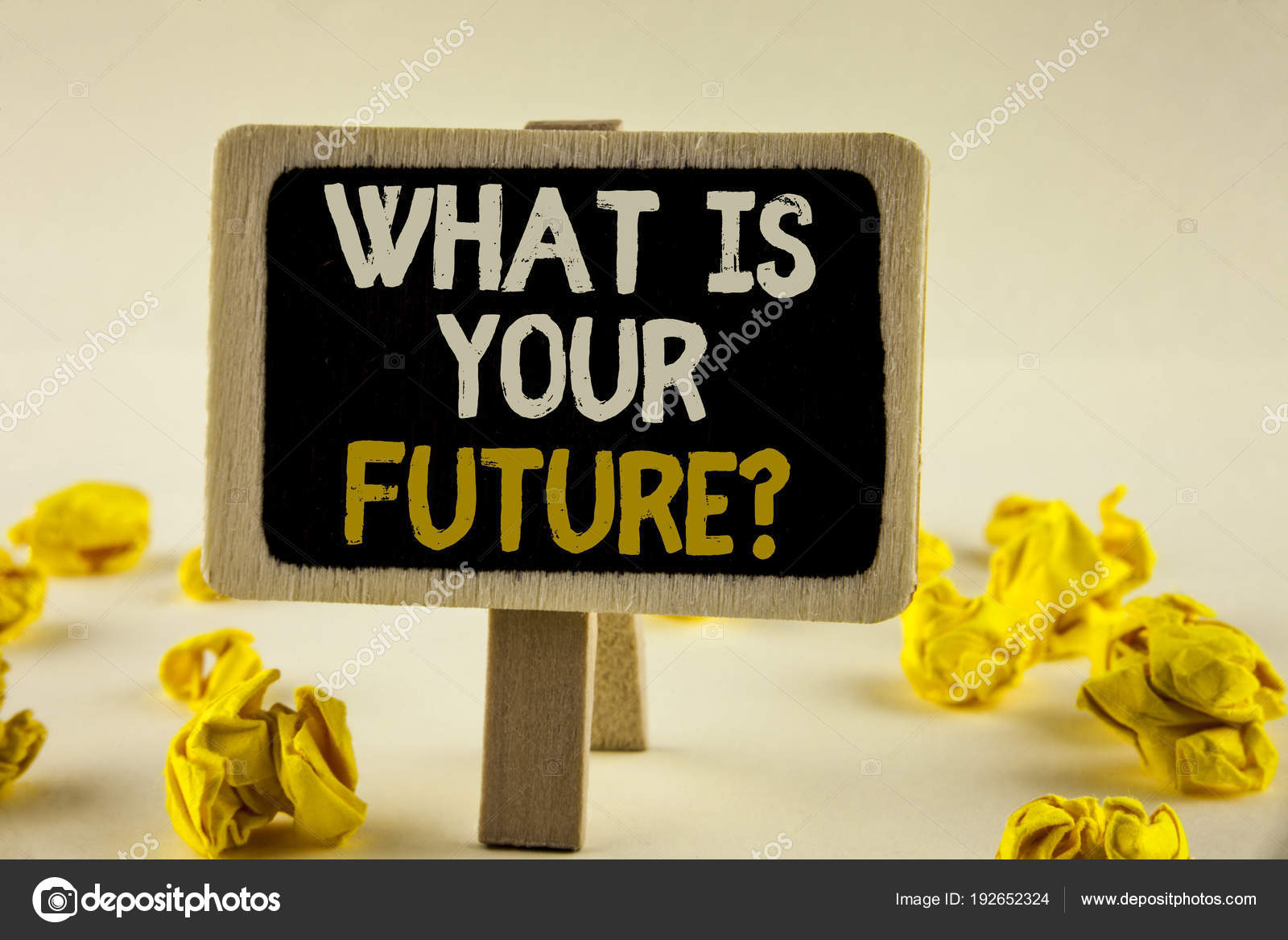 Handwriting text what is your future question concept meaning where concept meaning where do you see yourself in the next years written on wooden notice board on the plain background paper balls next to it solutioingenieria Image collections