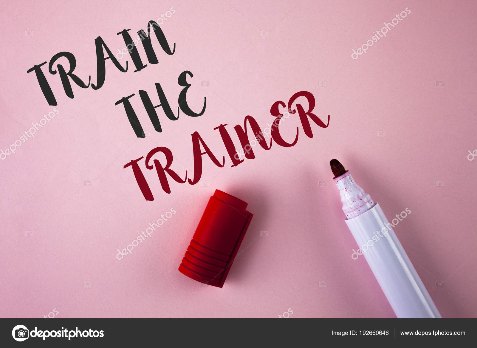 Conceptual hand writing showing Train The Trainer  Business