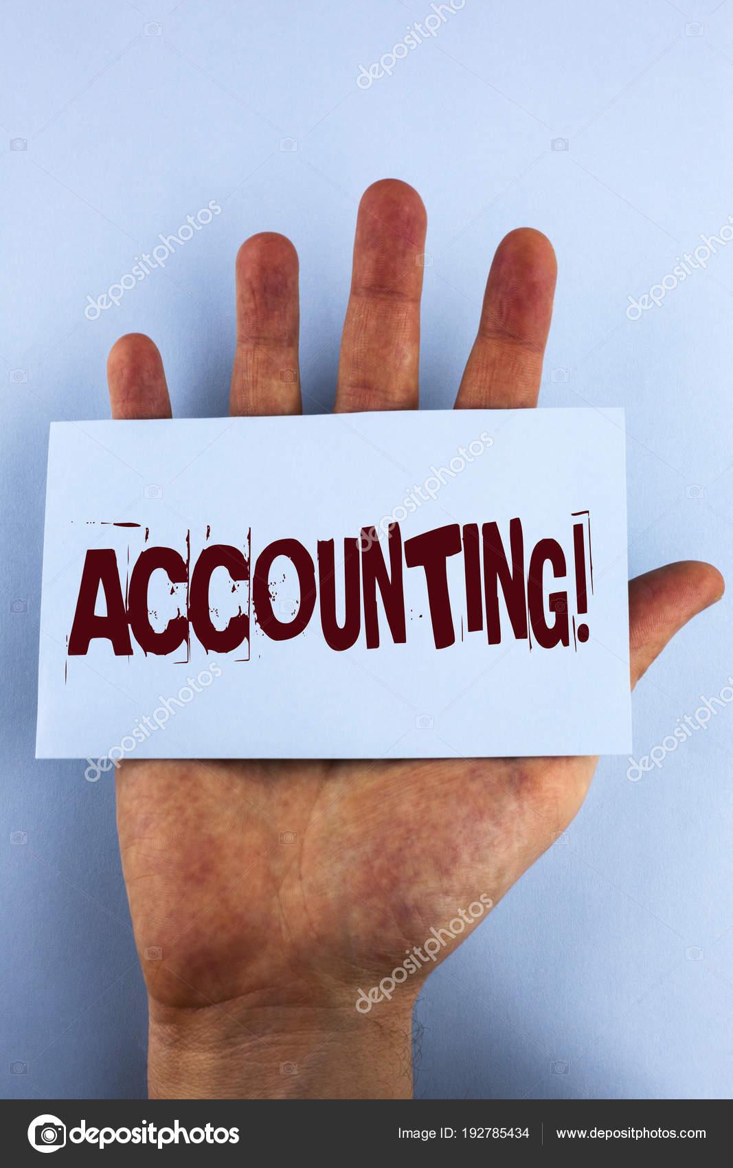 Word escribir texto contabilidad llamar motivación. Concepto de ...