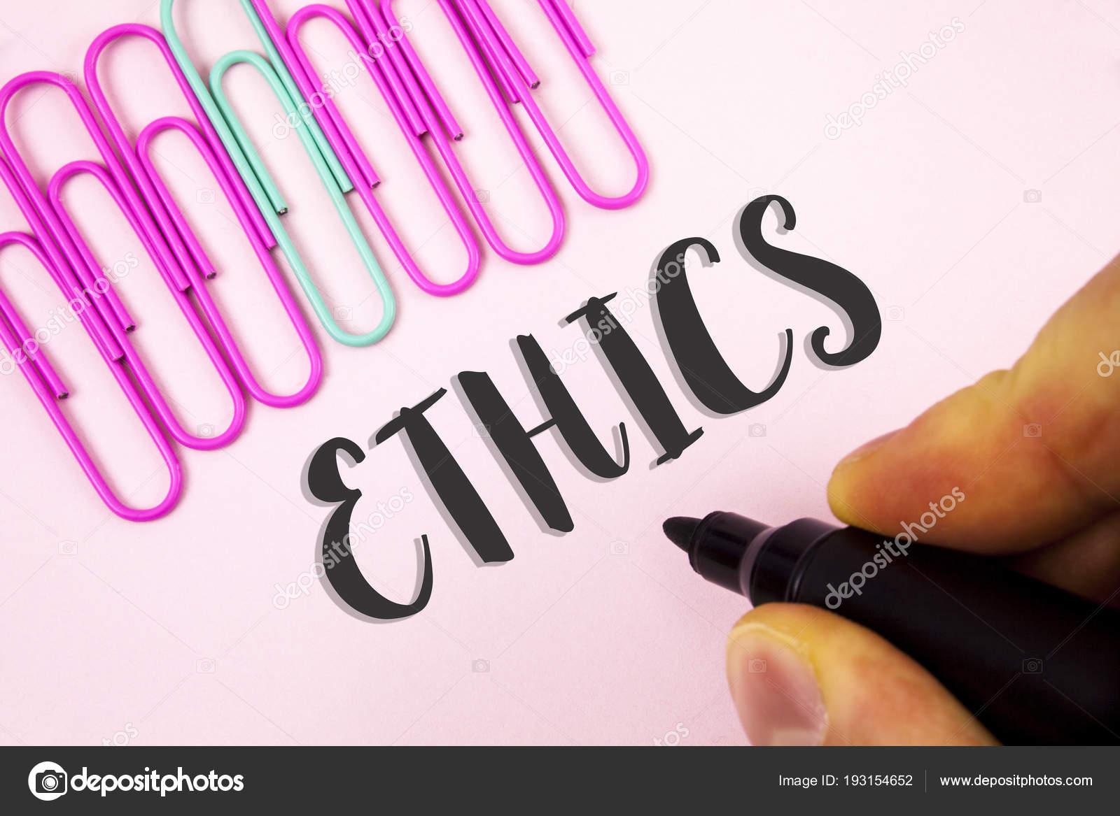 La palabra ética del texto de la escritura. Concepto de negocio para ...