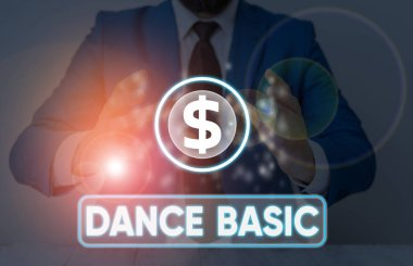 Word writing text Dance Basic. Business concept for activity that utilizes the body and the range of movement.